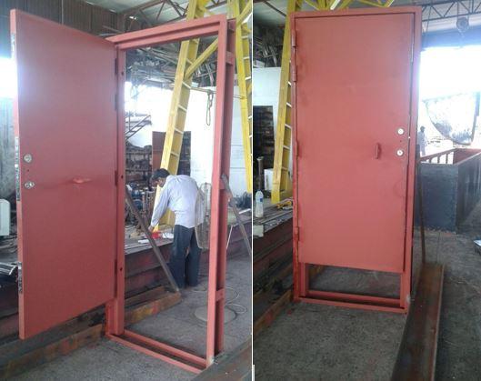 Bullet Resistant Steel Door